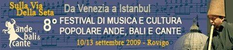 ANDE, BALI E CANTE 2009