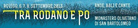 ANDE, BALI E CANTE 2013